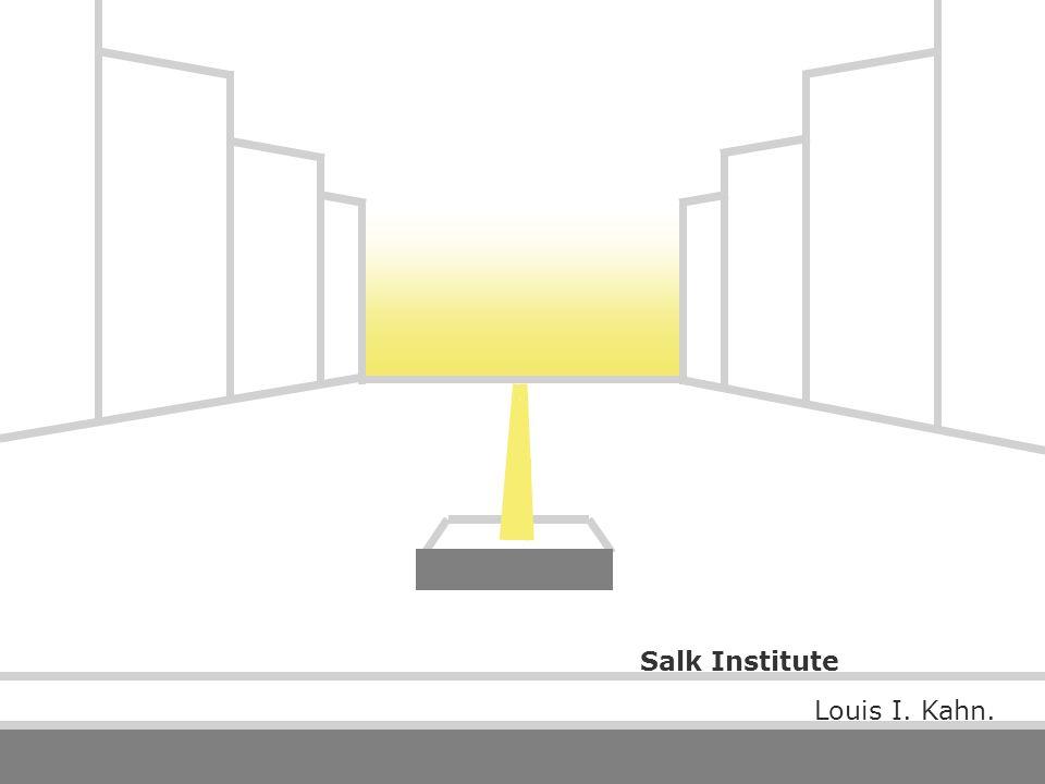 Louis I. Kahn. Salk Institute