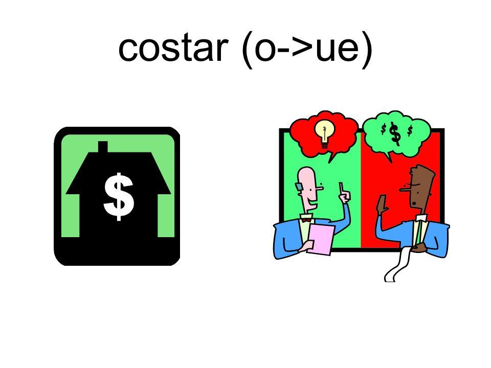 costar (o->ue)