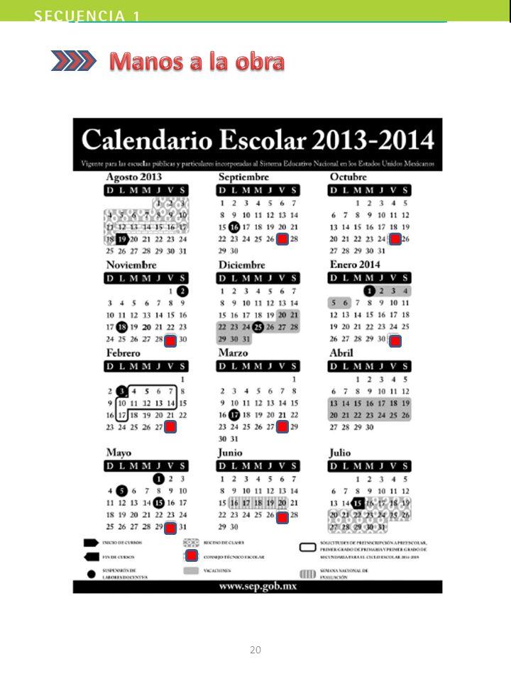 A partir del ciclo escolar 2013 – 2014, el calendario escolar incorpora de manera oficial al Consejo Técnico Escolar como parte de las actividades reg
