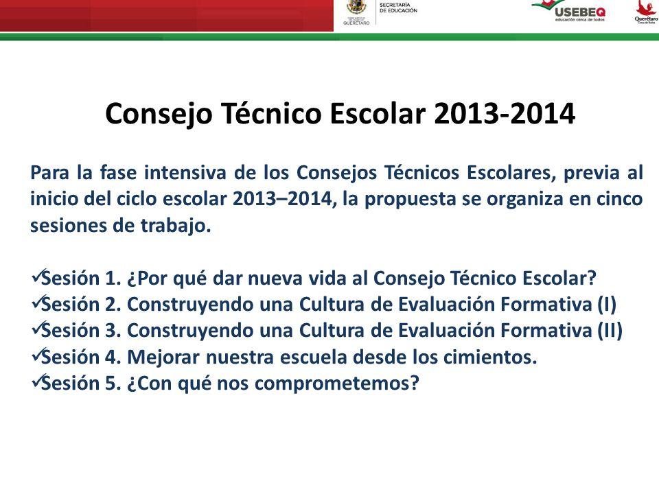 ContenidosProductos Encuadre del CTE Sesión 1: ¿Por qué dar nueva vida al Consejo Técnico Escolar.