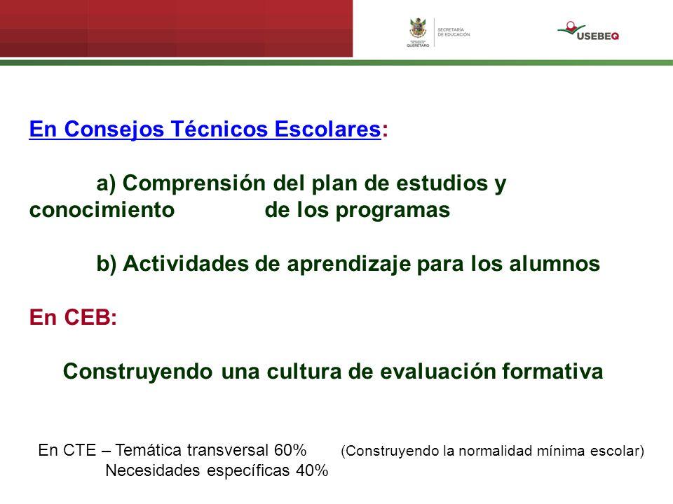 Agosto 12 Presentación de CEB-CTE ¿Por qué dar nueva vida al CTE.