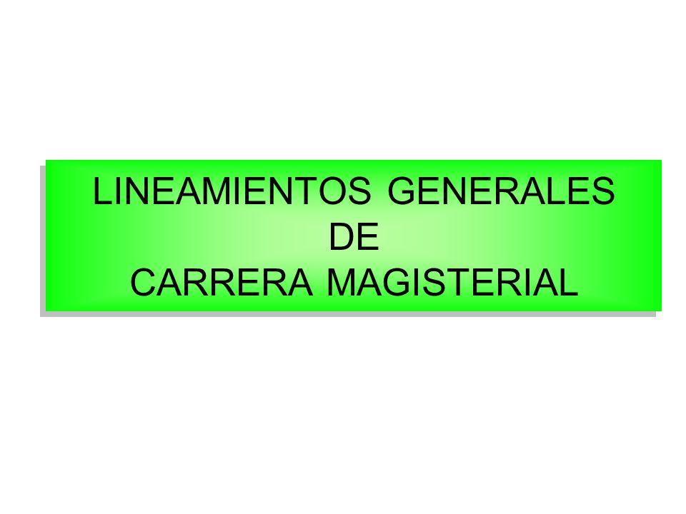 ¿Qué es Carrera Magisterial.