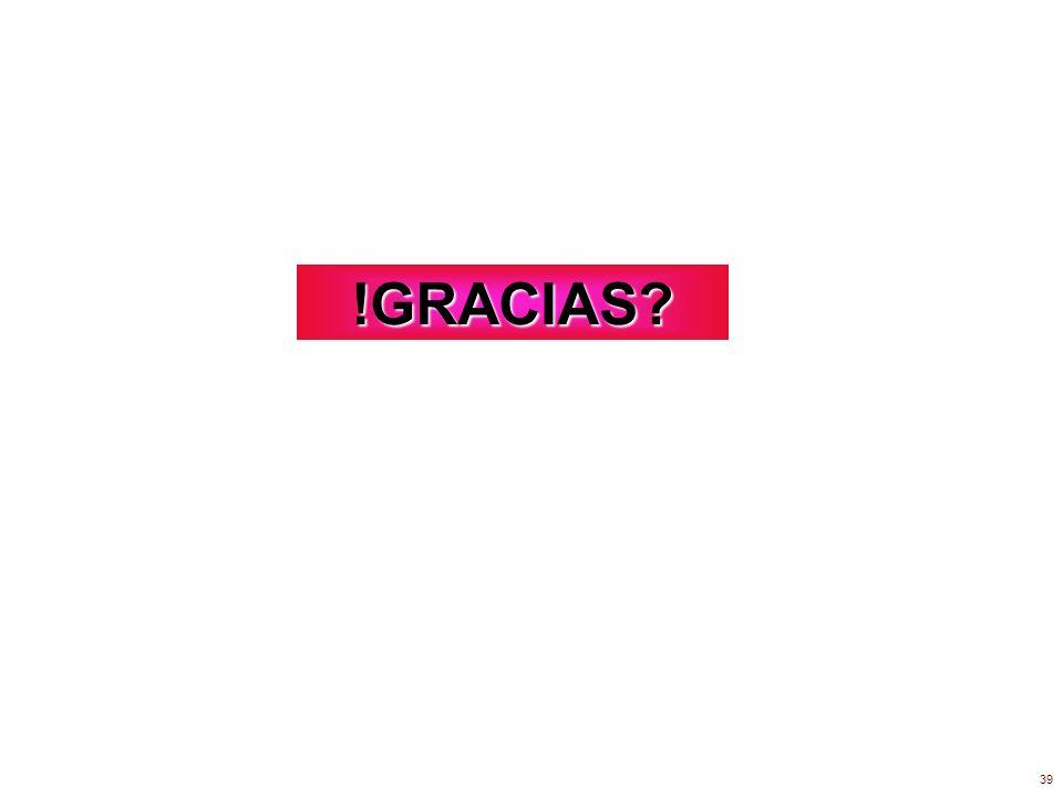 !GRACIAS? 39