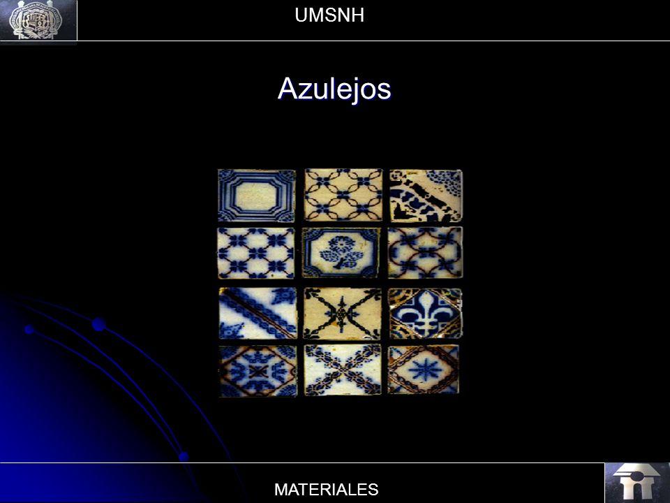Azulejos UMSNH MATERIALES