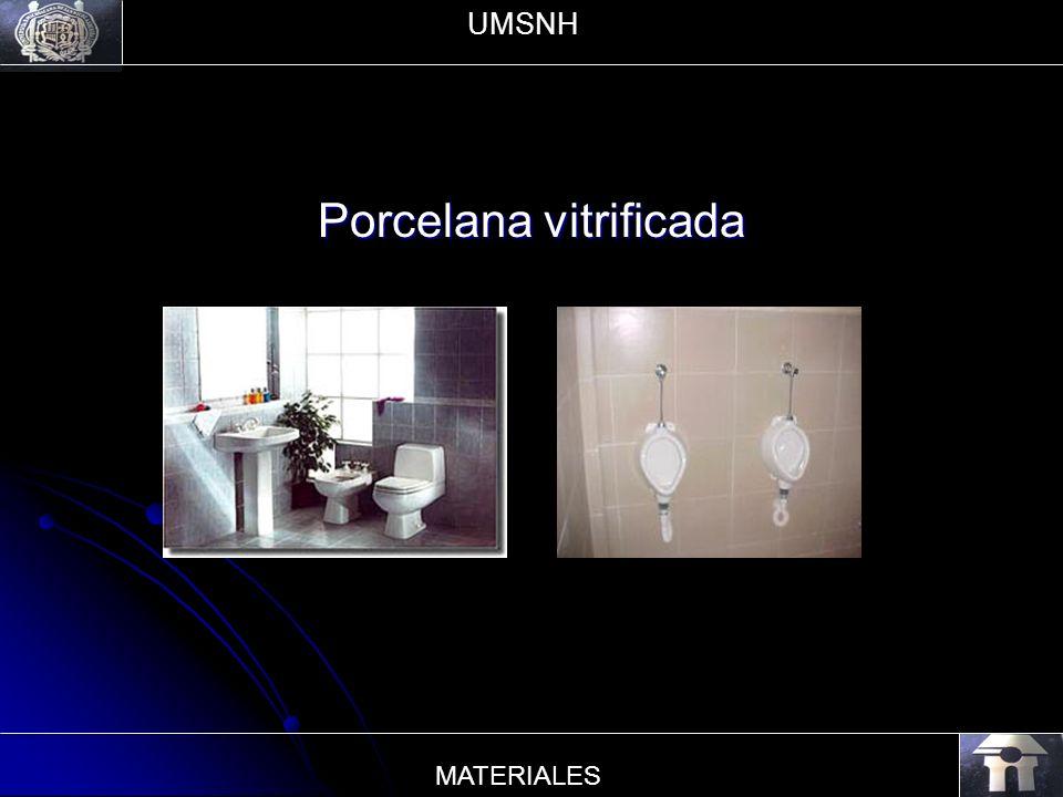 Porcelana vitrificada UMSNH MATERIALES