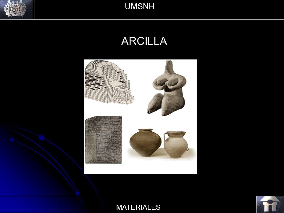 ARCILLA UMSNH MATERIALES
