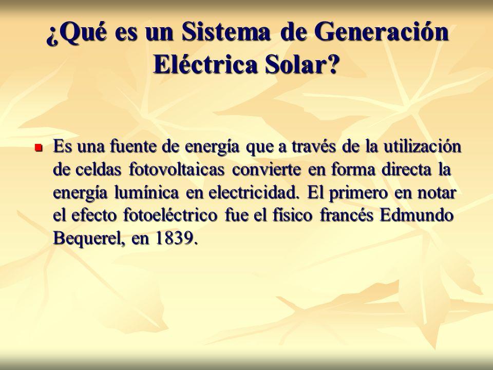 Celdas fotovoltaicas Fotovoltaica es la conversión directa de luz en electricidad a nivel atómico.