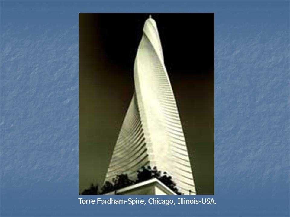 Torre Fordham-Spire, Chicago, Illinois-USA.