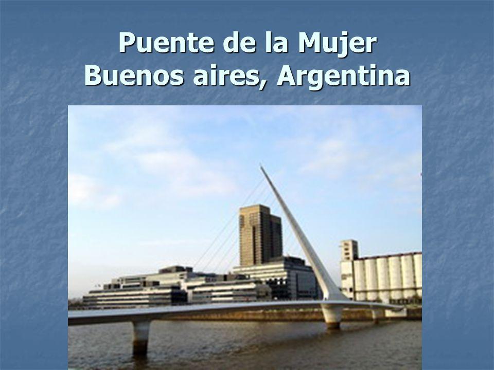 Puente de la Mujer Buenos aires, Argentina