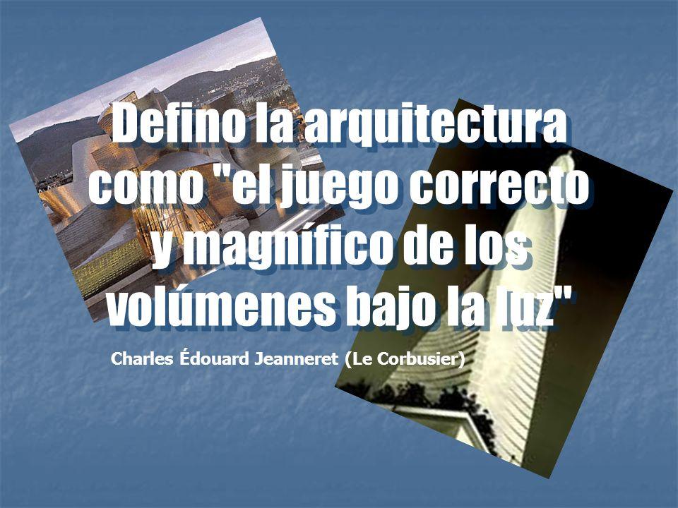 Defino la arquitectura como