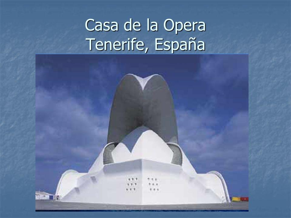 Casa de la Opera Tenerife, España