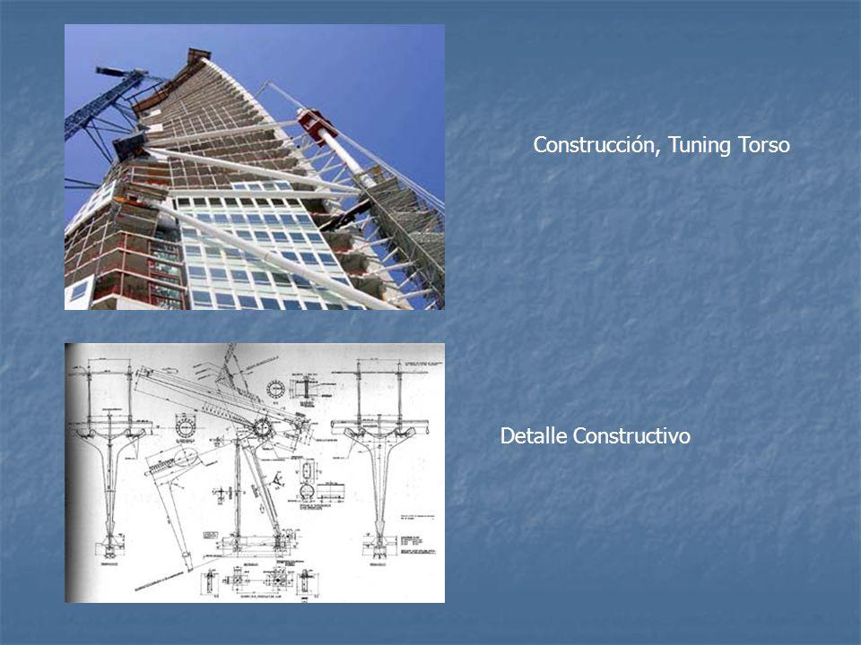 Construcción, Tuning Torso Detalle Constructivo