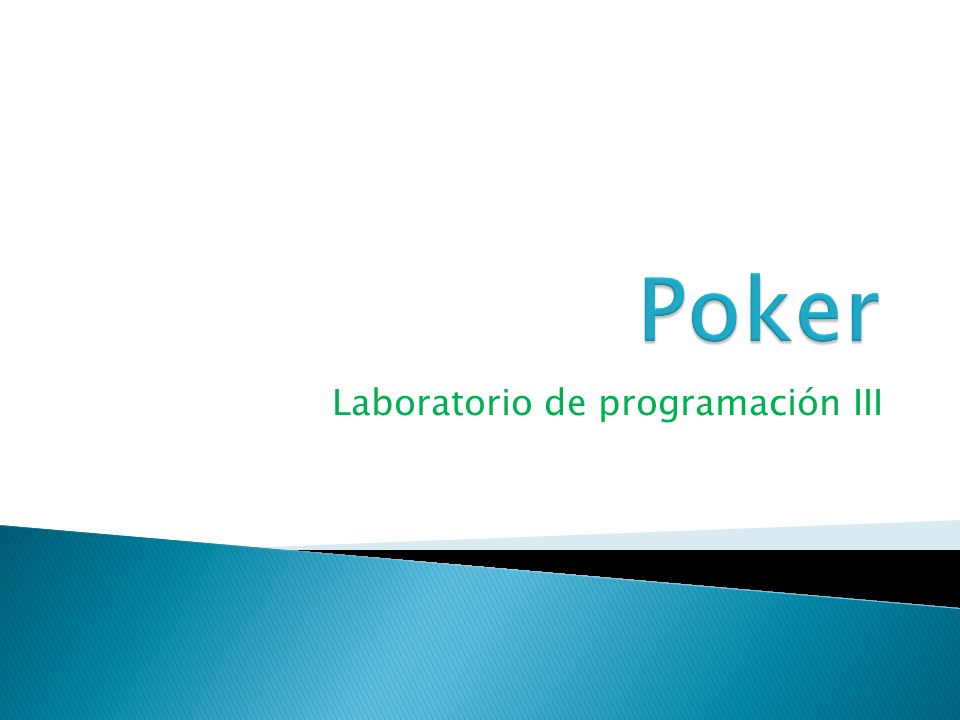 Laboratorio de programación III