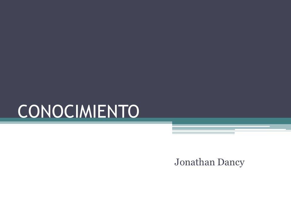 CONOCIMIENTO Jonathan Dancy