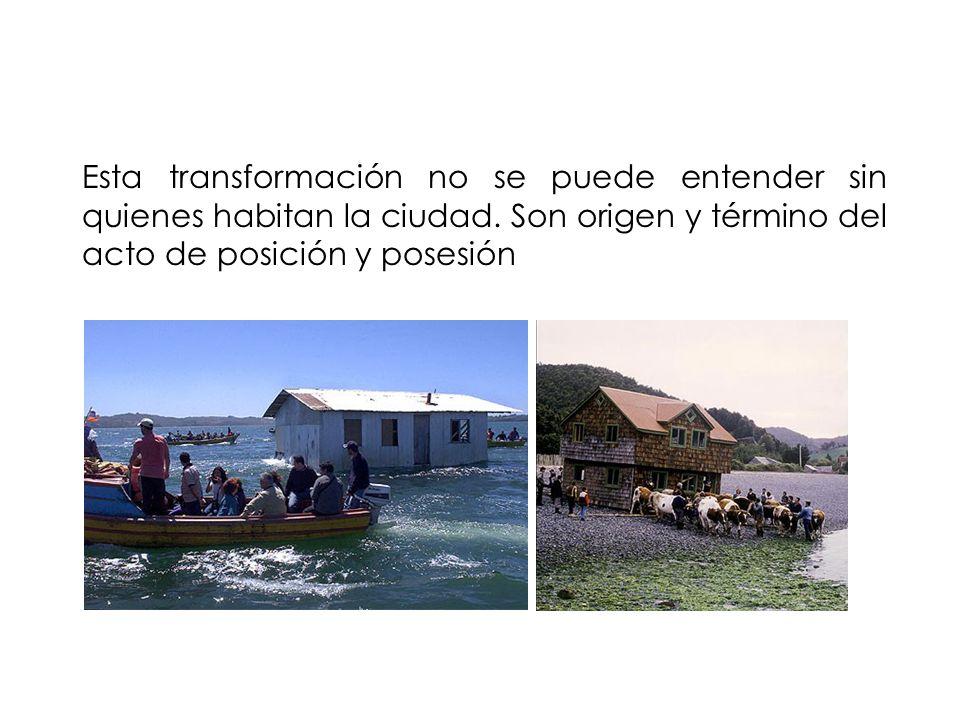 Esta transformación no se puede entender sin quienes habitan la ciudad.