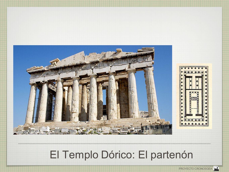 PROYECTO CRONOSGEA El Templo Dórico: El partenón