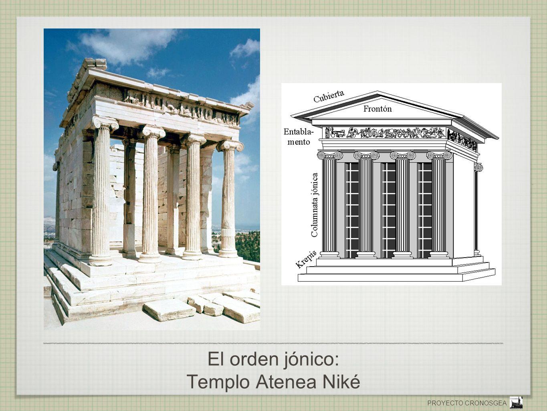 PROYECTO CRONOSGEA El orden jónico: Templo Atenea Niké