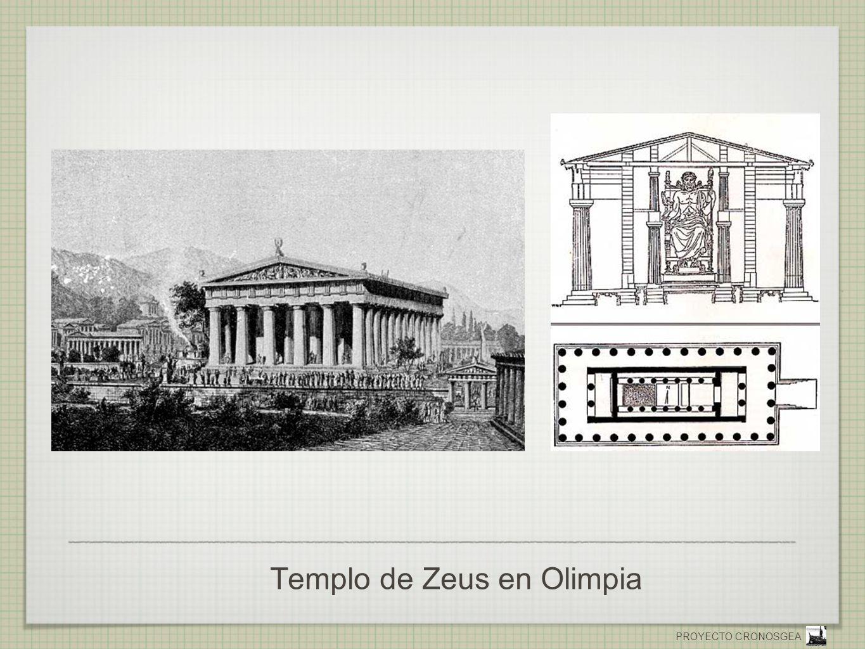 PROYECTO CRONOSGEA Templo de Zeus en Olimpia