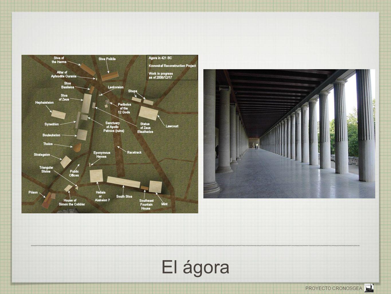 PROYECTO CRONOSGEA El ágora