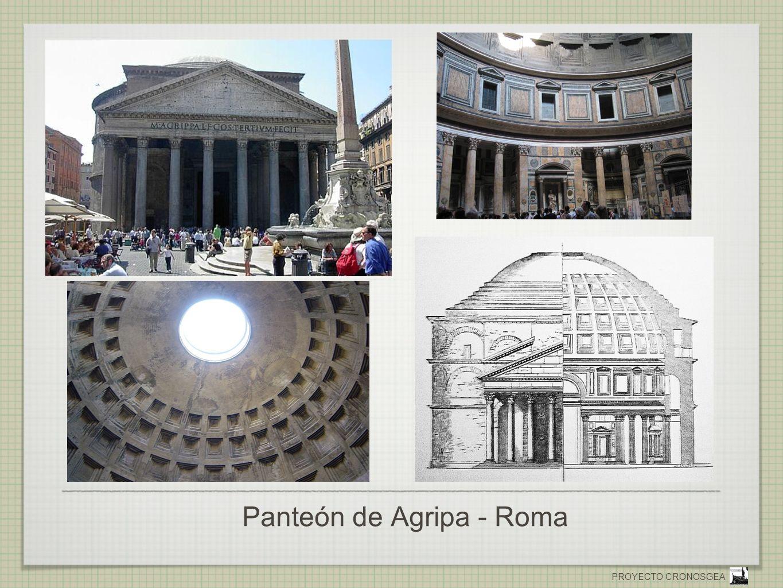 PROYECTO CRONOSGEA Panteón de Agripa - Roma