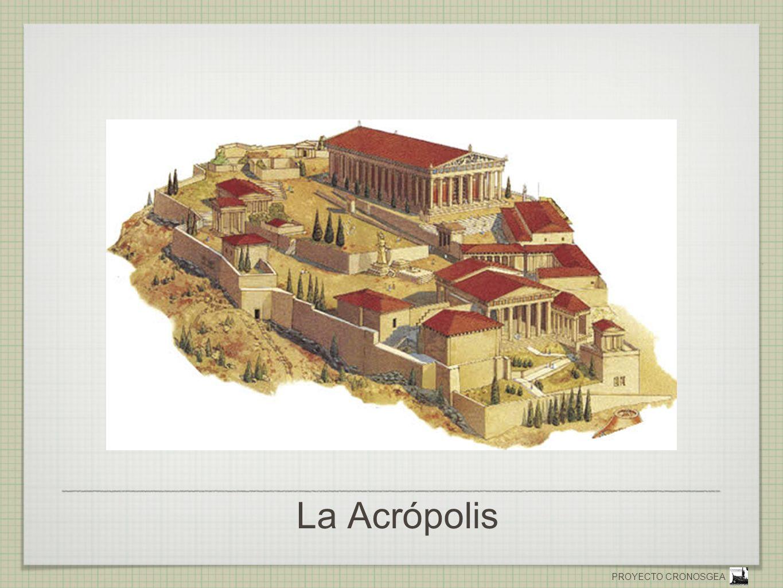 PROYECTO CRONOSGEA Acrópolis de Atenas - Reconstrucción