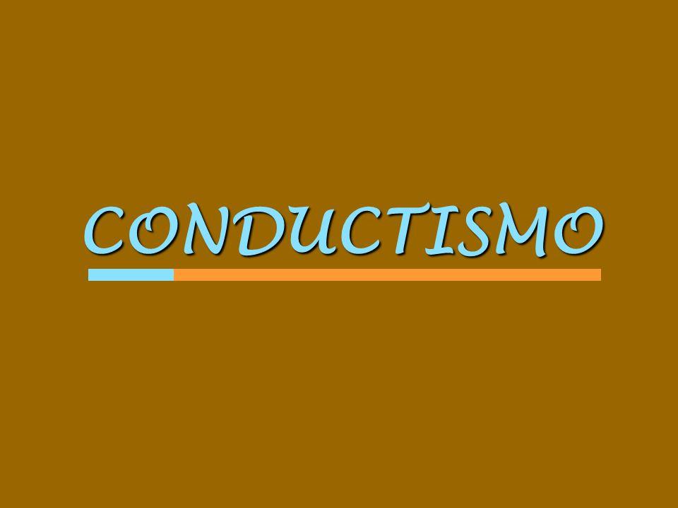 CONDUCTISMO COGNITIVISMO CONSTRUCTIVISMO Teorías del Aprendizaje