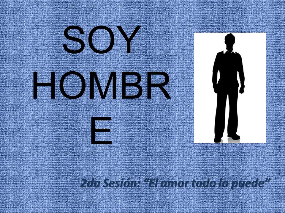 SOY HOMBR E 2da Sesión: El amor todo lo puede