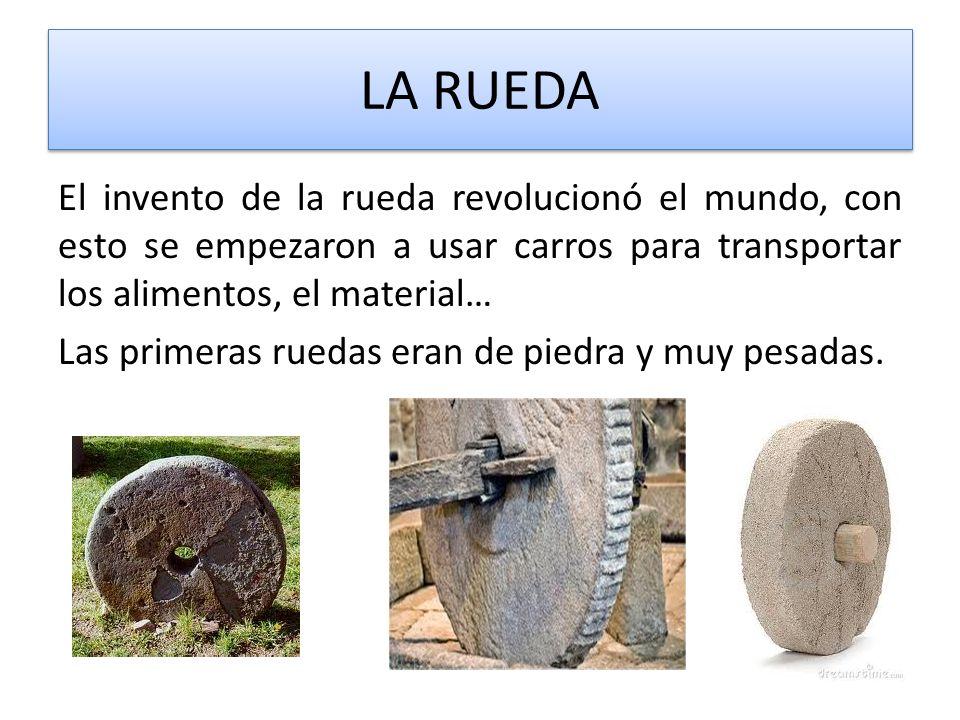 EL ARADO El arado es un invento que permitía arar las tierras y luego sembrarlas, con esto ahorraban el esfuerzo de hacerlo a mano.