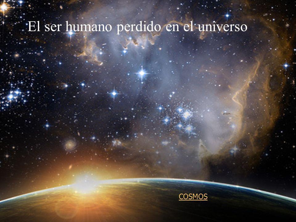 El ser humano perdido en el universo COSMOS