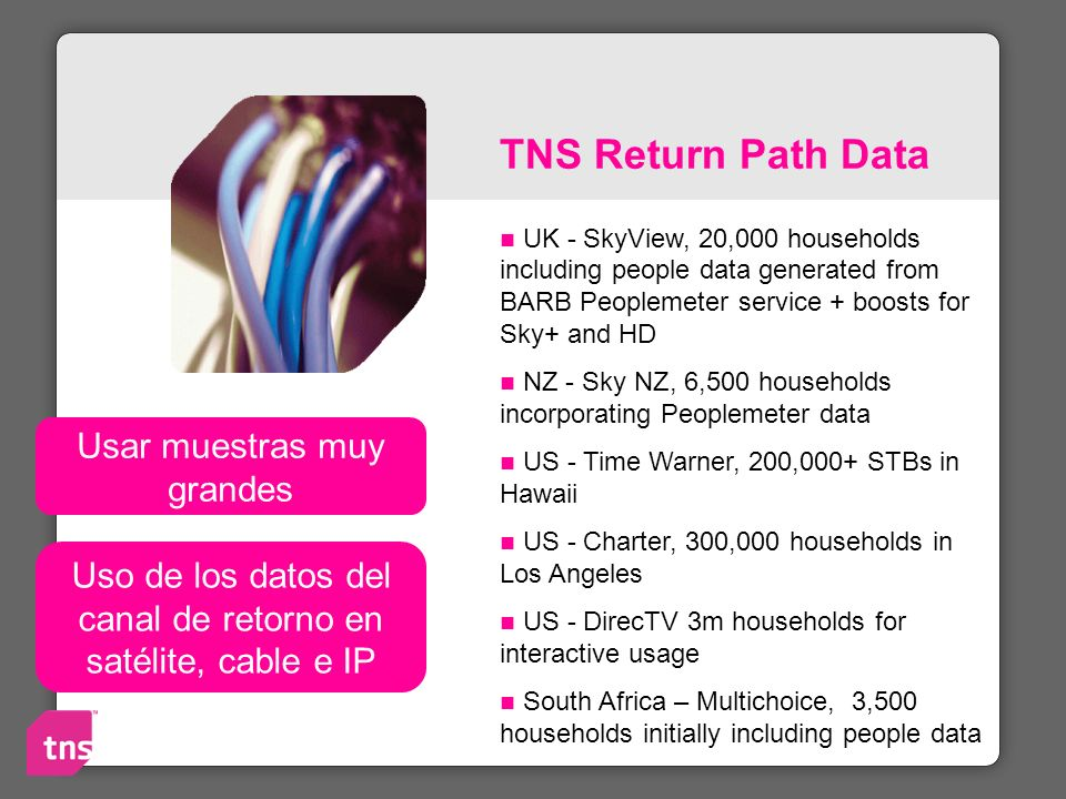 TNS Return Path Data UK - SkyView, 20,000 households including people data generated from BARB Peoplemeter service + boosts for Sky+ and HD NZ - Sky N