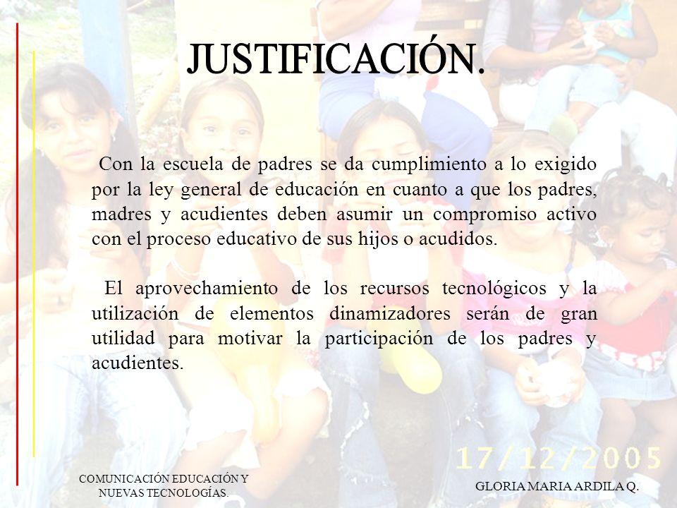 Con la escuela de padres se da cumplimiento a lo exigido por la ley general de educación en cuanto a que los padres, madres y acudientes deben asumir