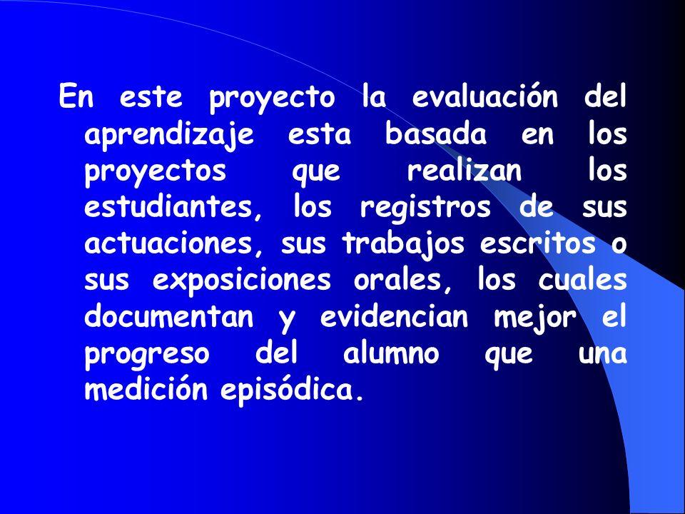 Otro de los objetivos de este proyecto es el de promover la integración de las ciencias naturales, de las matemáticas, de las artes, la expresión oral