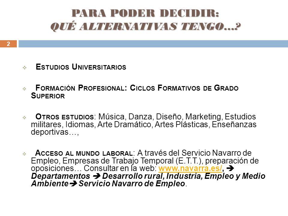 13 En la web del Instituto: www.iesnavarrovilloslada.comwww.iesnavarrovilloslada.com Puedes ver esta presentación en: Sala de estudios Departamento de Orientación