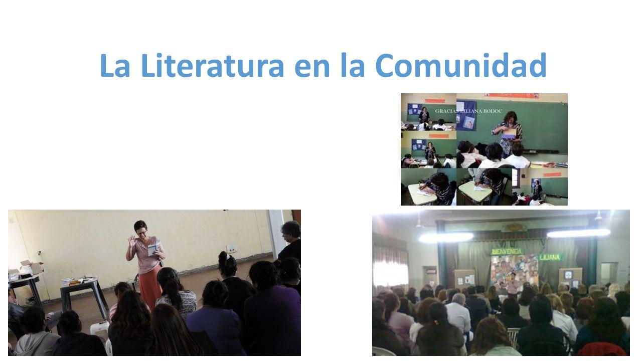 La Literatura en la Comunidad
