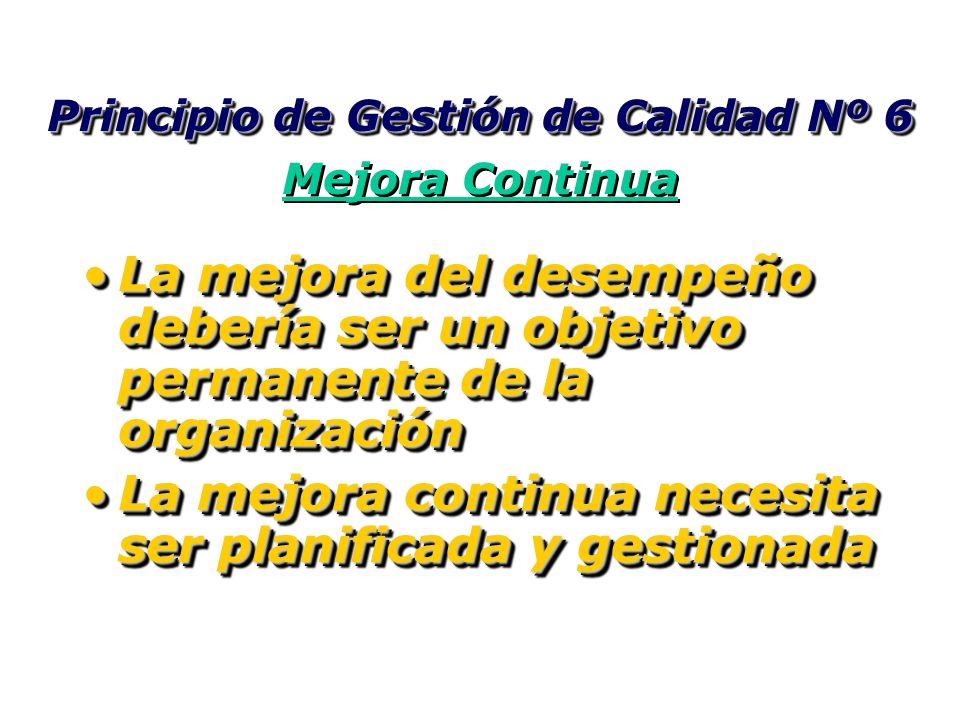 Principio de Gestión de Calidad Nº 5 Enfoque de Sistema hacia la Gestión Principio de Gestión de Calidad Nº 5 Enfoque de Sistema hacia la Gestión Iden