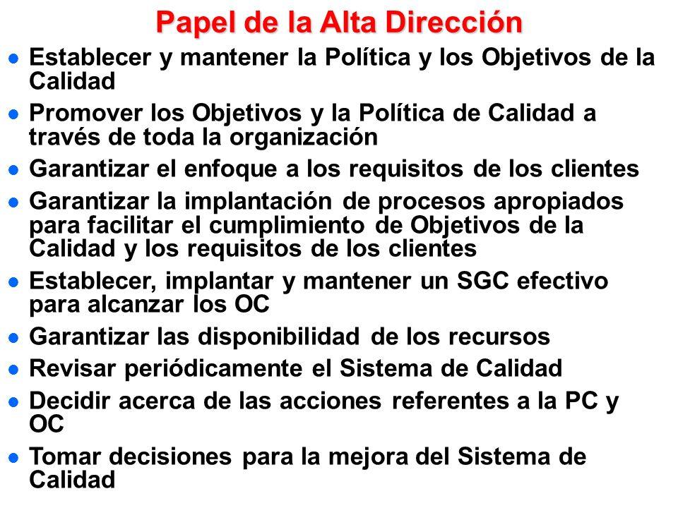 Por ello se debe prestar especial atención a: Seguimiento de las no conformidades: acciones correctivas y preventivas Seguimiento del proceso de mejor
