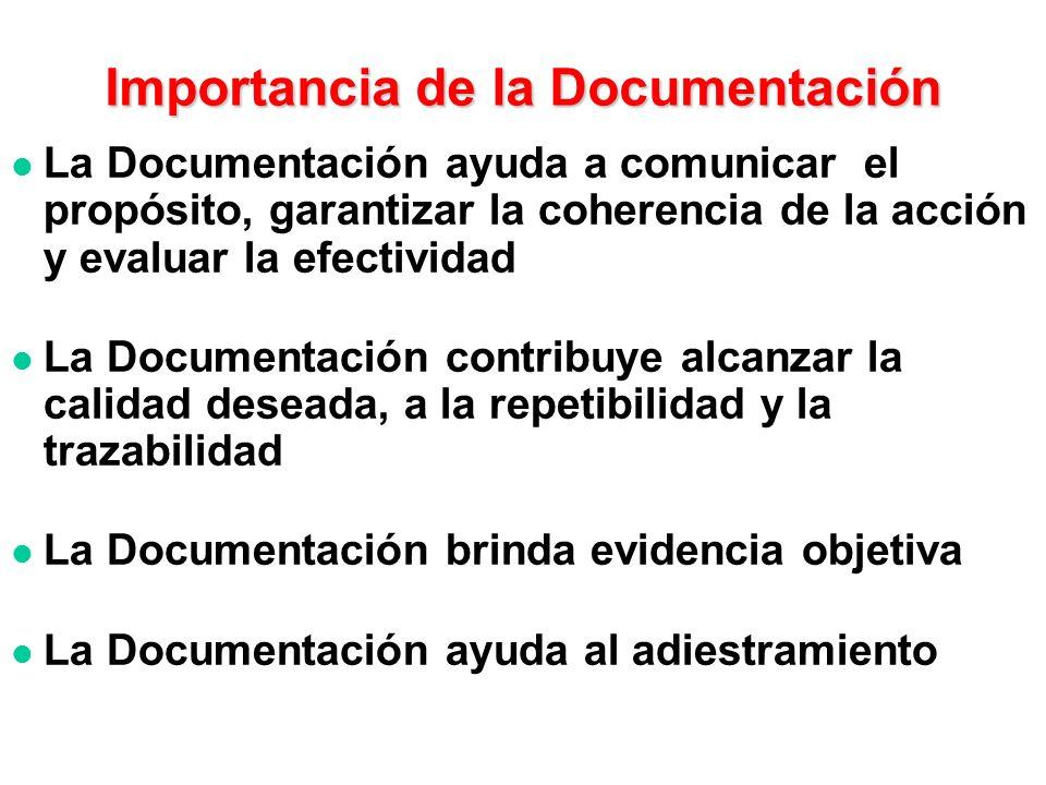 3. Términos y definiciones 4.1 Requisitos generales 4.2 Requisitos generales de documentación La extensión depende del tamaño y tipo de organización,