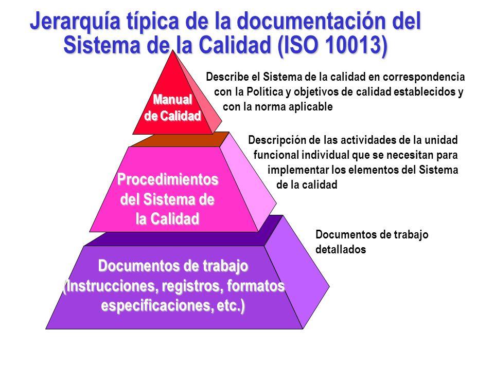 La Documentación ayuda a comunicar el propósito, garantizar la coherencia de la acción y evaluar la efectividad La Documentación contribuye alcanzar l
