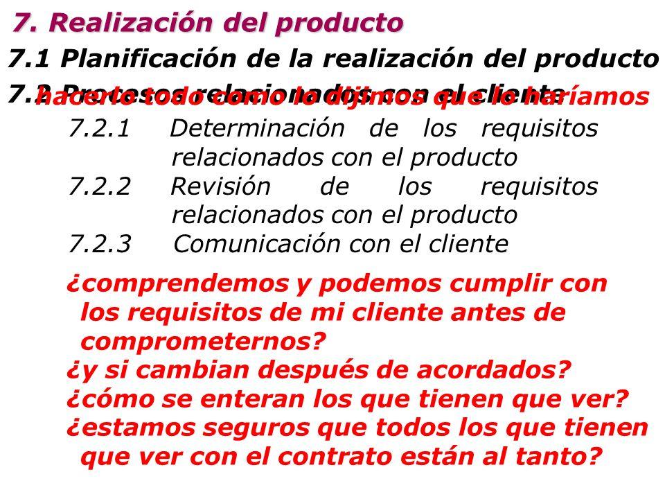 5.2 Enfoque al cliente 5.3 Política de la calidad 5.1 Compromiso de la Dirección 5.6 Revisión por dirección 5.5 Responsabilidad, autoridad y comunicac