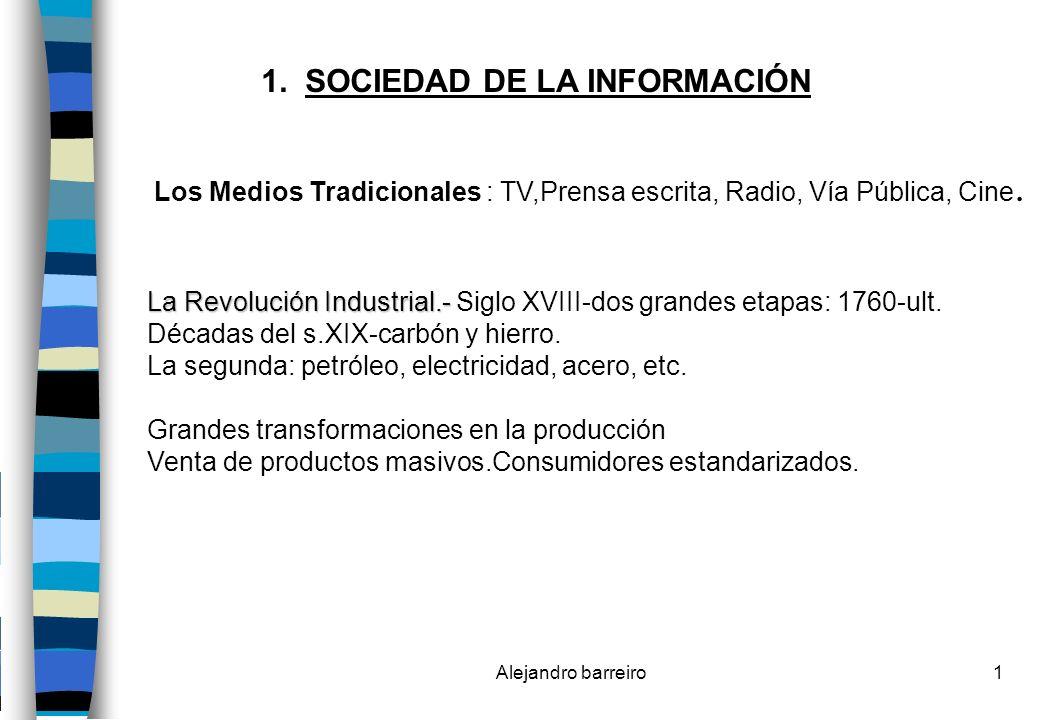 Alejandro barreiro62 Los Medios Gráficos y su escenario El quiosco: tiene dos funciones: 1)Presencia.