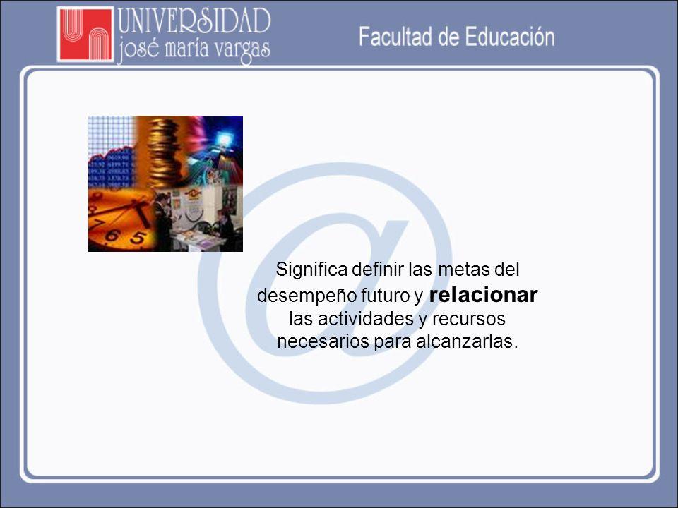 Usted ha finalizado la exploración de los contenidos presentados referentes a la Conceptualización del proceso de Planificación y Planificación Educativa.