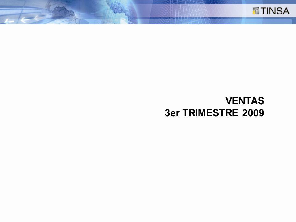 VENTAS 3er TRIMESTRE 2009