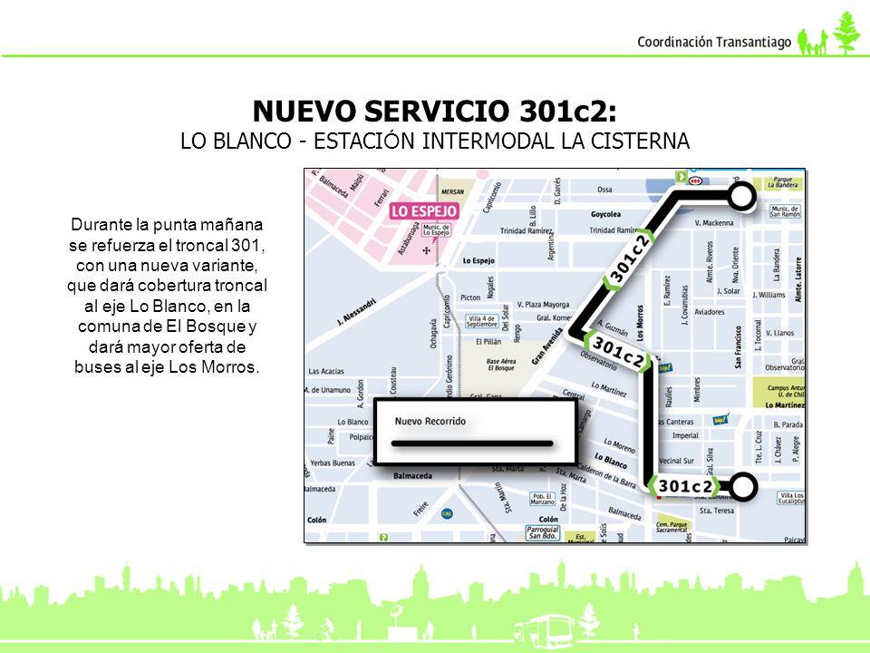 El troncal 305e modifica su recorrido, pasando ahora por el túnel San Cristóbal, en vez del camino La Pirámide.