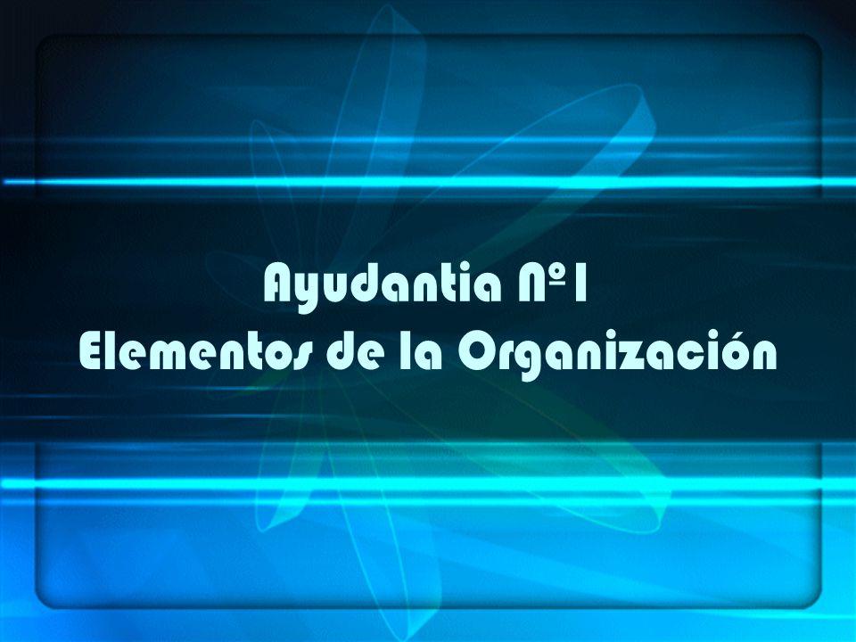 Organizar: Acción de preparar la realización de algo.