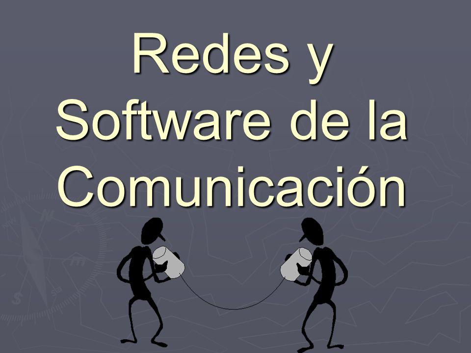 Redes y Software de la Comunicación