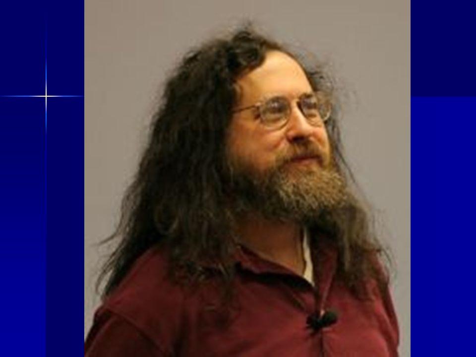 RS Richard Matthew Stallman, (n.