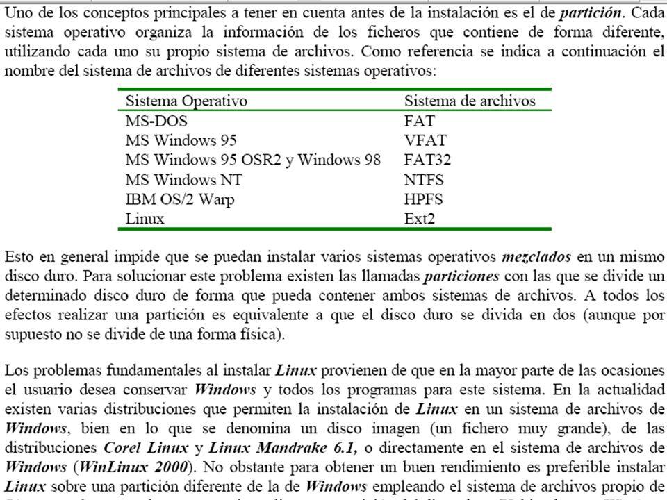 Otro de los puntos a tener en cuenta es cómo se quiere arrancar Linux si existe Windows, la forma más sencilla es instalar LILO, un programa que se encarga de arrancar ambos sistemas operativos según lo que indique el usuario al arrancar el PC.