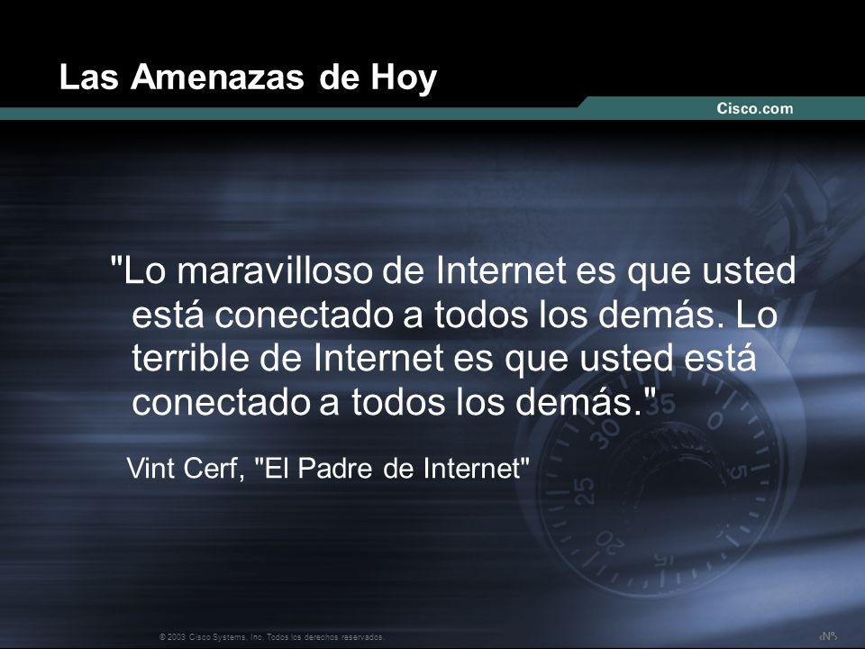 Nº © 2003 Cisco Systems, Inc. Todos los derechos reservados.