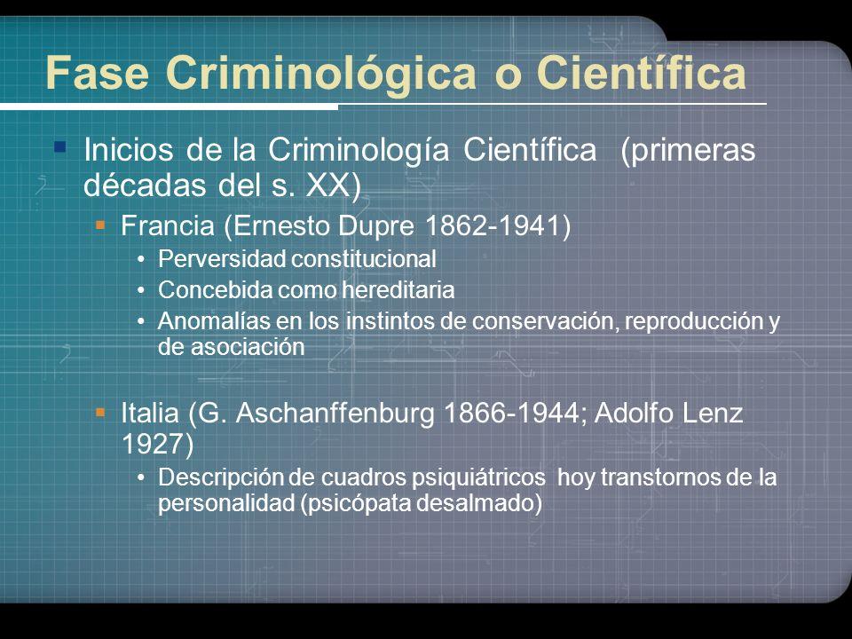 Raíces de la Criminología Marxista y Crítica Sigmund Freud (Fines del s.XIX) Postulados del psiconálisis Importante influencia en el ámbito penal y cr