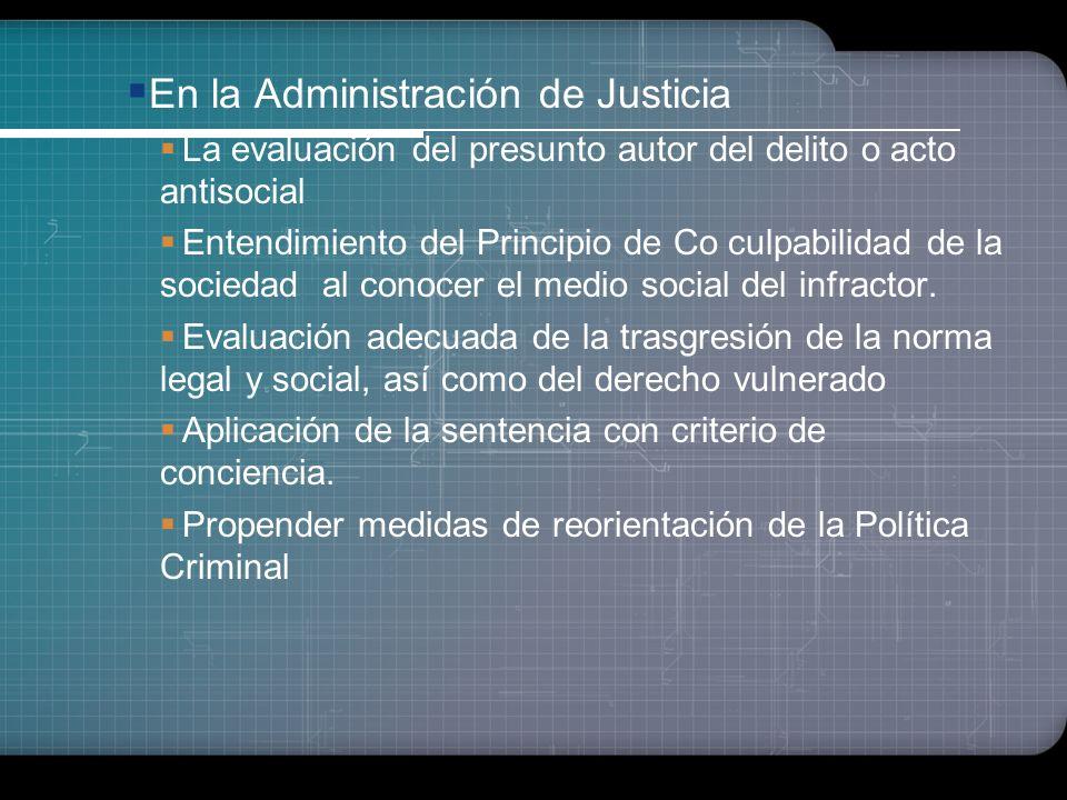 Importancia de la Criminología En el Proceso de Investigación Policial Conocimiento de la etiología del delito, del delincuente y del antisocial Análi